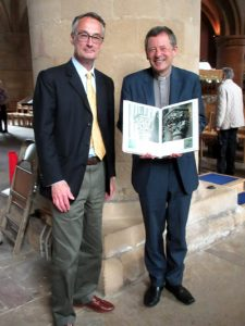 Canon Nigel Coates and Charlie Leggatt gave a 'double act' talk on their recent visit to Naumburg Cathedral