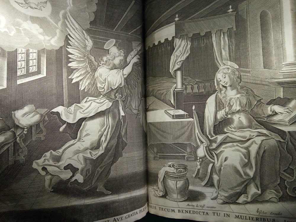 Annunciation from the King James Bible
