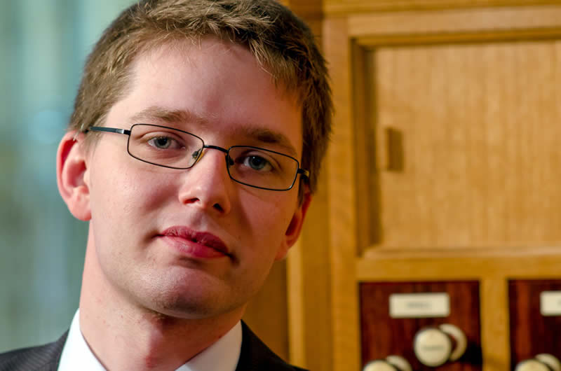 Simon Hogan, Assistant Director of Music at Southwell Minster