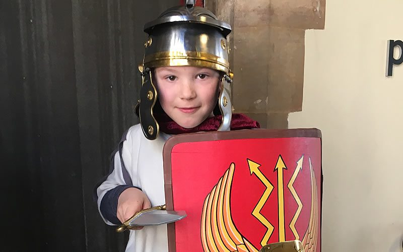 Half term fun with those Crafty Romans